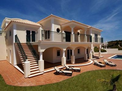 Photo for Panoramic Ocean View Villa with Private Pool only meters from the Beach