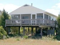 Great, quiet location on the beach! Wild life and long walks abound!
