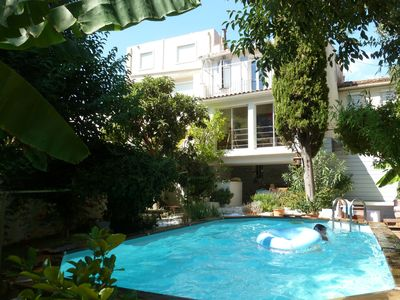 Photo for House of charm heart Marseille - sleeps 5 - pool - air conditioning