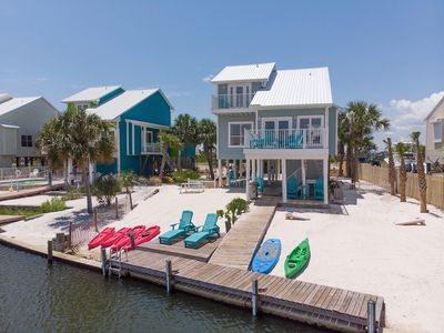 Photo for Upscale Gulf House with BOTH Beach & Bay access. Private Beach!