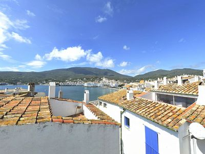 Photo for 101.133_Apartment with one bedroom and terrace with sea views next to Es Poal Beach