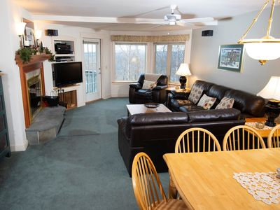 Photo for Ski-in/Ski-out Suite in a Great Location | Access to Pool, Arcade, Sauna and more!