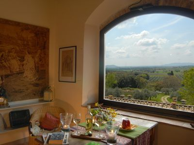 Photo for Vacation in apartment 4 people in the historic organic farm, with swimming pool