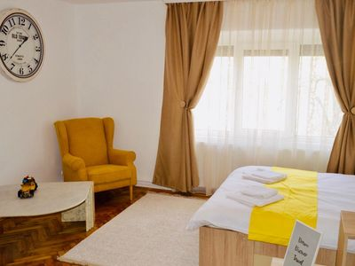 Photo for ★Apartment with BIG room near DT`s❤, WiFi, TV, Washer★