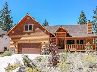 Photo for ~Luxury On Eagle Ridge~Gorgeous Custom Log Home~Packed Garage Game Room~