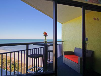 Photo for 2 BALCONY CONDO/PENTHOUSE/ONE BEDROOM/GREAT VIEWS/MANY UPGRADES WITH BEACH DECOR