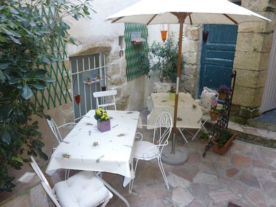 Photo for Charming 15th Century Village House with patio