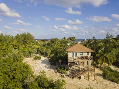 Photo for New Windermere Island Cottage with dock, on Bonefish Flats.