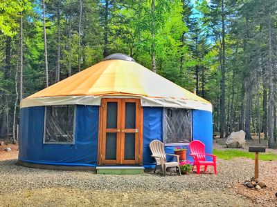 Photo for Glamping on the Quiet-side of Acadia National Park!