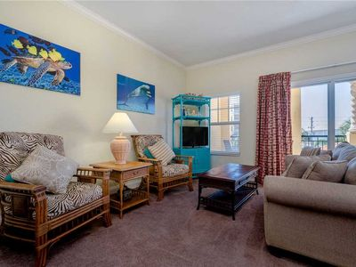Photo for The Palms of Treasure Island 203, 2 Bedrooms, WiFi, Pool Access, Bay Front, Sleeps 6