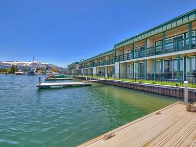 Photo for Lake View Condo with 3 bedrooms, 3 Baths and a Boat Dock