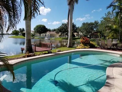 Photo for Dream Vacation House In Pembroke Pines with heated pool