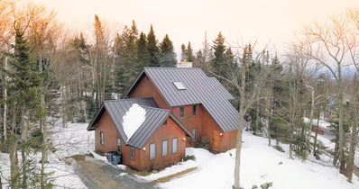 Photo for Beautiful!! Bromley-Stratton VT Slopeside Ski Home, Minutes from Manchester