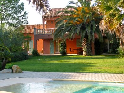 Photo for Wonderful private villa with private pool, WIFI, TV, balcony, washing machine and parking