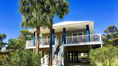 "Photo for South of 30A, Private Pool, Steps to the beach, ""Blue Parrot Cottage"""