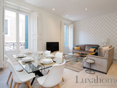 Photo for 3B 6 pax. Luxury Apartment in the center of Madrid 100 m from Gran Via