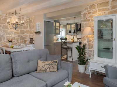 Photo for Elegant, Charming and Chic Apartment with balcony in the Heart of Split