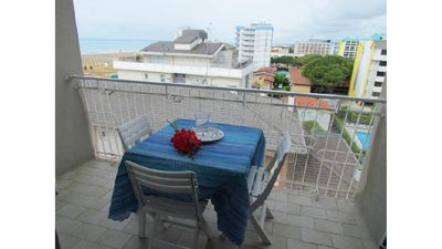 Photo for Seafront Complex - Sea View - Parking and Beach Place Included