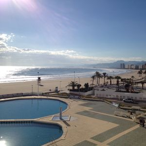 Photo for Beach front apartment Stunning views