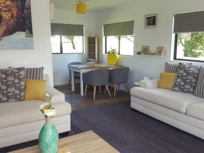Photo for Bach style home near beach, shops and playground