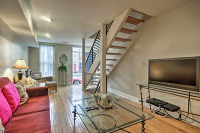 Explore the best of Baltimore from this vacation rental townhome!