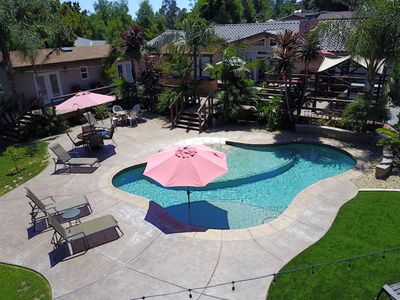 Photo for Private Guest House Near Wine Country w/Pool