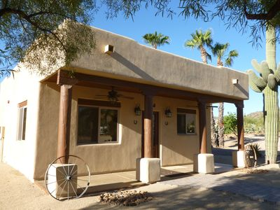 Photo for Adorable Western Casita on 5 acres