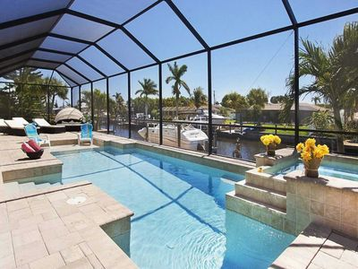 Photo for SWFL Rentals - Villa Florida Pearl - Gorgeous 3 Bedroom+Den Pool Home w/Spa & Gulf Access