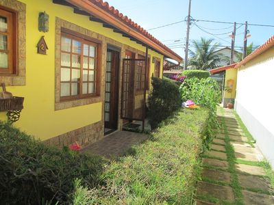 Photo for Excellent duplex house with air conditioning, the second street from the beach of peró