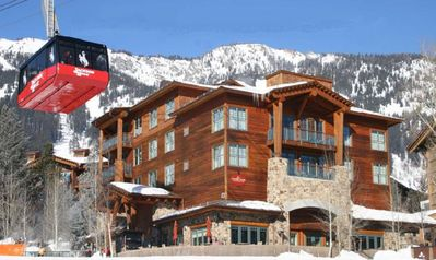 Photo for 20-40% Off Most Weeks(Teton Club) Ski-in/Out to Tram, Gondola- 4 Hot Tubs & Spa!