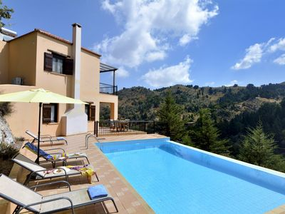 Photo for Villa With Private Pool In Traditional Village With Spectacular Mountain Views