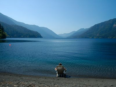 Photo for Lakefront Cottage On Spectacular Lake Crescent, Olympic National Park, WA State