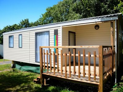 Photo for Camping La Plage *** - Mobile home 3 Rooms 4/6 People