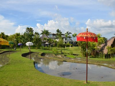 Photo for Luxury in the rice fields in a park of 100 ares