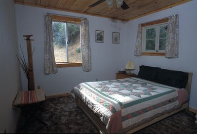 one of the 3 bedrooms, this one is in the back