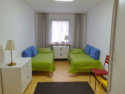 Photo for Cozy luxury apartment in the heart of Frankfurt near the center, Main and Mess