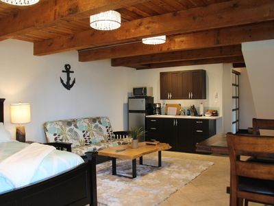 Photo for Private waterfront room with king bed.