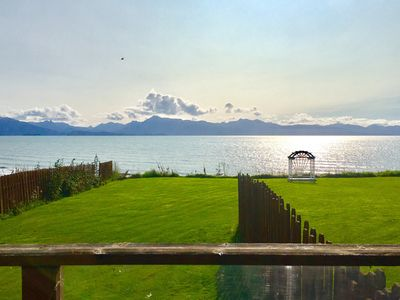 Photo for Waterfront Kachemak Cottage on Bishops Beach in the heart of town with View