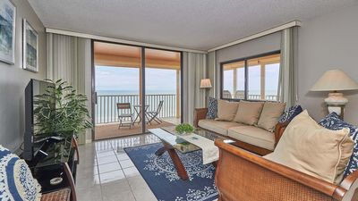 Photo for Gulf Front Corner Condo with Amazing Gulf and Intercoastal  Views!! FREE Wi-Fi, Cable, and Phone with Long Distance to USA and  CANADA
