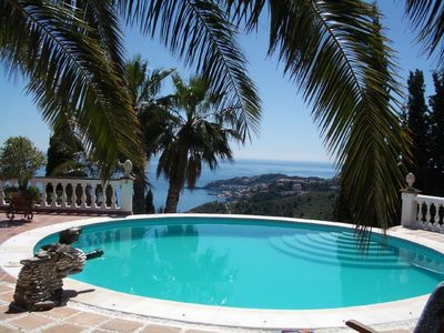 Photo for Finca with a fantastic view of the sea and the city