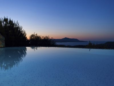 Photo for Sea View Breathtaking: Prinolithos Villa.  Reduced Prices between June 02 & 23!!