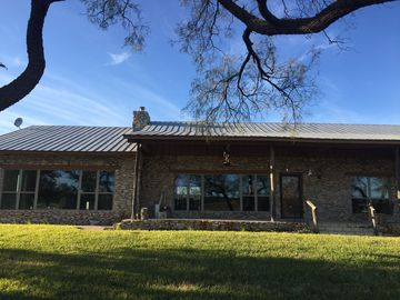 Relax And Unwind At This Beautiful Ranch Home Located In The Texas Hill Country