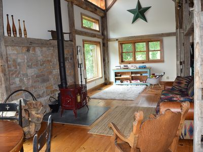 Photo for Luxury Barn Retreat . Year-Round Perfect Family Getaway