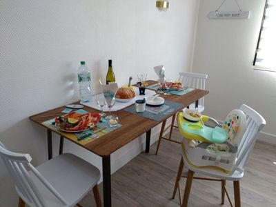 Photo for Cosy apartment for 2 people with WIFI, TV and parking