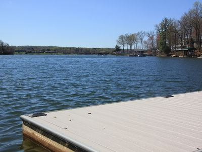 Photo for SUMMER AT THE LAKE, Quiet Cove,Wonderful Water Views, Great Location