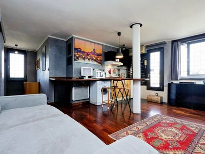 Photo for Homerez last minute deal - Nice studio in Roma and Wifi