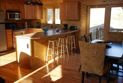 View of Kitchen with all new appliances