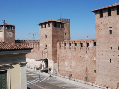Photo for Bright and with all comfort with unique view of Castelvecchio