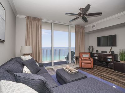 Photo for BEACHFRONT  - FREE ACTIVITIES! BEACH, POOLS, HOT TUB & MORE! CLICK TO SEA