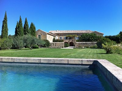 Photo for Mas de Soie, 5 Bedroom Mas Between Uzès and Avignon, Sleeps 8